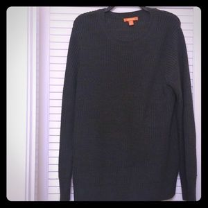 Joe Fresh Gray Knit Cable Sweater